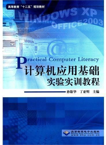 计算机应用基础实验实训教程