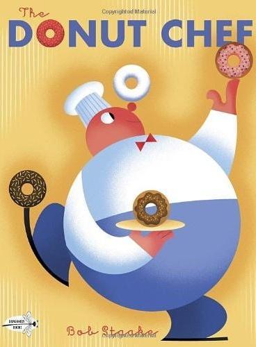 The Donut Chef 多纳圈厨师 (经典绘本) ISBN9780385369923