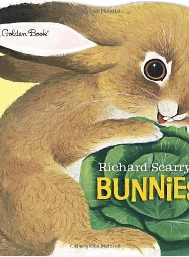 Richard Scarry's Bunnies 斯凯瑞:小兔子 ISBN9780385385183