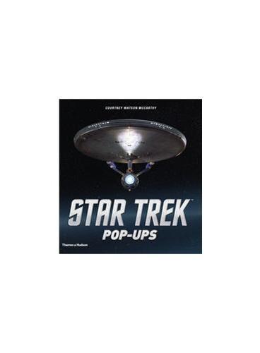 Star Trek Pop-Ups (ISBN=9780500517499) 美国电影星际迷航立体书 美国书店本年最热销精美大图册之一 杰西卡阿尔芭也在看!