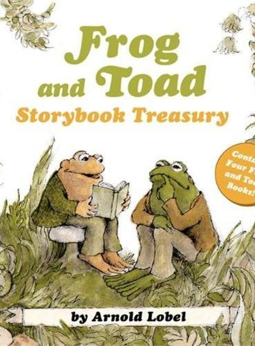 Frog and Toad Storybook Treasury 《青蛙和蟾蜍》四个故事合集ISBN9780062292582