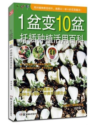 1盆变10盆:扦插种植活用百科