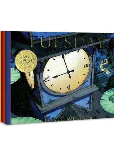 Three Pigs,Flotsam,Tuesday,Mr Wuffles大卫-威斯纳经典作品集(四册,《疯狂星期二》、《海底的秘密》、《三只小猪》、《华夫先生》)ISBN9781783442577