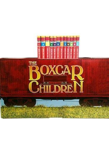 The Boxcar Children Bookshelf [Books #1-12]棚车少年(12册,含海报及书签)ISBN9780807508558