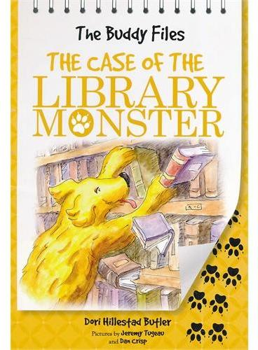 The Buddy Files: The Case of the Library Monster (Book 5)狗侦探5