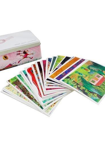 我想送你一盒小卡片:十五年创作精选2005-2013(含64张小卡片+收纳铁盒)