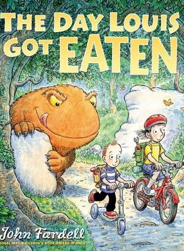 The Day Louis Got Eaten (获奖绘本,Scottish Children's Award)ISBN9781849393874