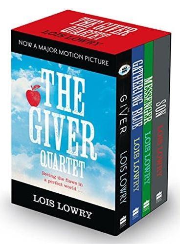 The Giver Quartet Box 《记忆传授者》四部曲(全四册)ISBN9780008113490
