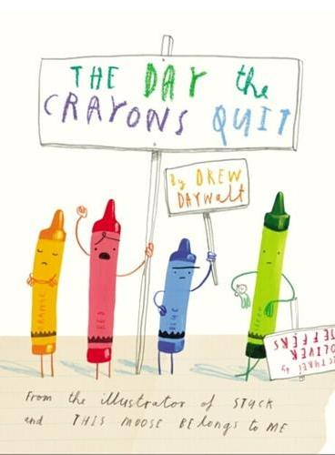The Day the Crayons Quit 蜡笔辞职 ISBN9780399174193