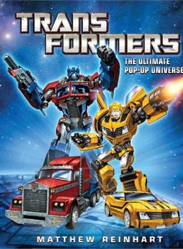 Transformers: The Ultimate Pop-up Universe变形金刚立体书ISBN9780316186629