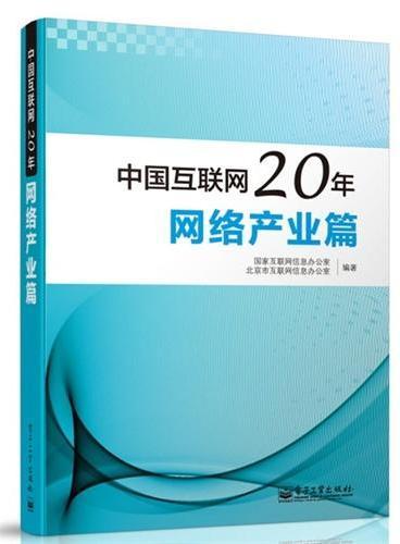 中国互联网20年:网络产业篇(全彩)