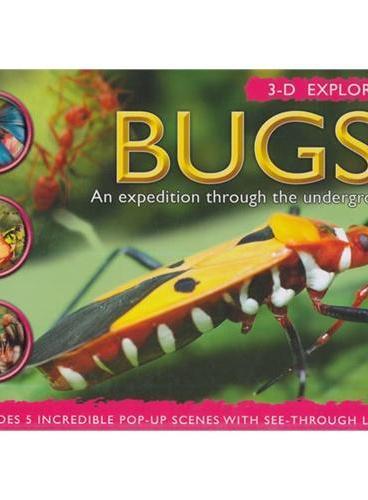 3-D Explorer: Bugs 3D探索系列:虫子ISBN9781607105367