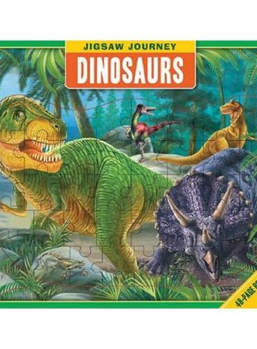 Jigsaw Journey: Dinosaurs拼图历险:恐龙ISBN9781607109488