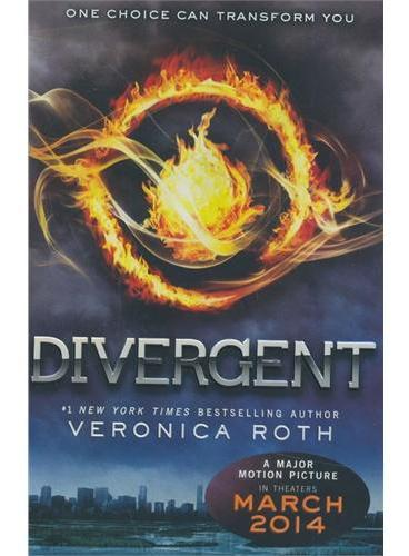 Divergent 分歧者 ISBN9780062024039