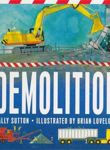 Demolition 挖掘机ISBN9780763664930