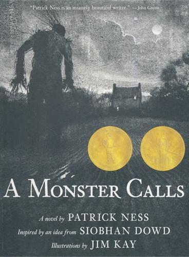 A Monster Calls 怪物来敲门(获奖童书)ISBN9780763660659