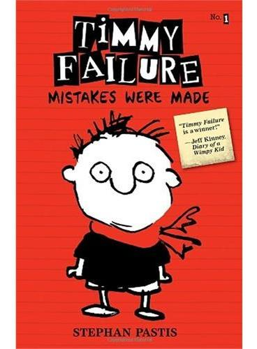 Timmy Failure #1: Mistakes Were Made 面具做好了(获奖小说)ISBN9780763660505
