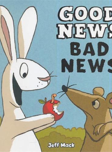Good News, Bad News 好消息,坏消息(亚马逊畅销绘本,精装) ISBN9781452101101