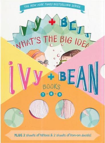 Ivy & Bean Boxed Set(7-9)艾薇和豆豆套装3(第7-9册;全球7-14岁女孩阅读第一品牌) ISBN9781452117324