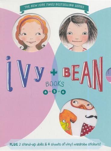 Ivy and Bean Boxed Set(4-6)艾薇和豆豆套装2(第4-6册;全球7-14岁女孩阅读第一品牌) ISBN9780811876650