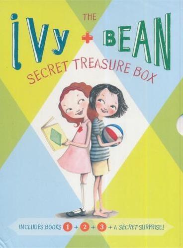 Ivy and Bean's Treasure Box(1-3) 艾薇和豆豆套装1(第1-3册+神秘手册;全球7-14岁女孩阅读第一品牌) ISBN9780811864954
