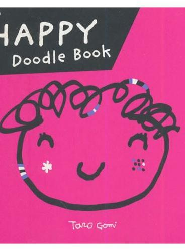 Happy Doodle Book五味太郎情绪涂鸦:快乐的涂鸦书 ISBN9781452107806