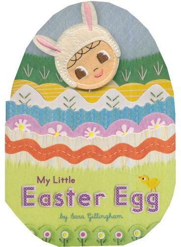 My Little Easter Egg 我的复活节小彩蛋[卡板书] ISBN9781452107967