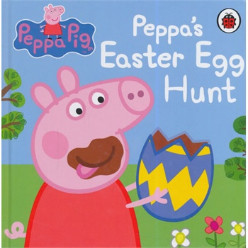 Peppa Pig: Peppa's Easter Egg Hunt粉红猪小妹:复活节彩蛋ISBN9780723271307