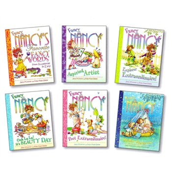 Fancy Nancy Bountiful Box of Books倩妞南茜礼品故事书(6册,精装)ISBN9780062308191