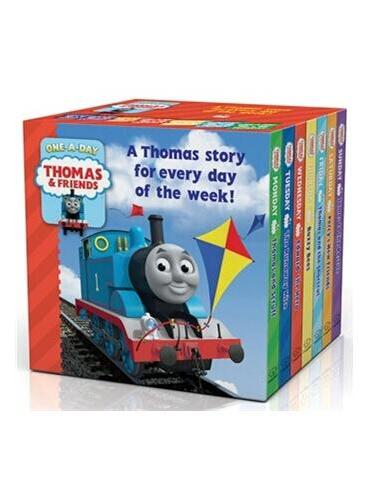 A Thomas's Story for Everyday of the Week小火这托马斯天天故事集(卡板书7册)