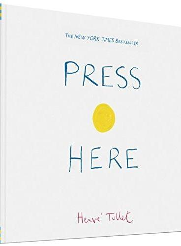 Press Here 按这里(by Herve Tullet,《点》姊妹篇) IBSN9780811879545