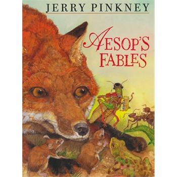 Aesop's Fables 伊索寓言(亚马逊儿童文学畅销榜第一名) IBSN9781587170003