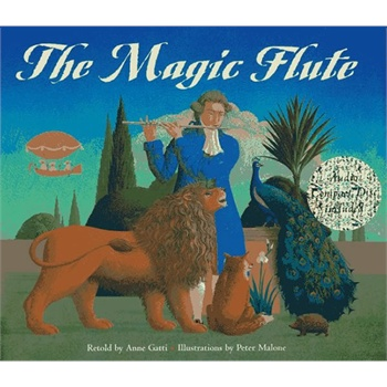 The Magic Flute (畅销绘本,含CD) 神奇的笛子 IBSN9780811810036