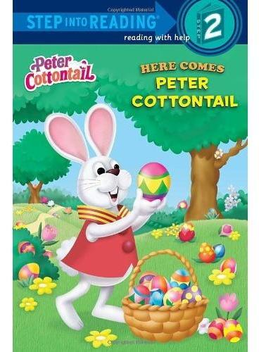 Here Comes Peter Cottontail (Step into Reading, Step 2) 绒尾兔来了 ISBN9780307930323