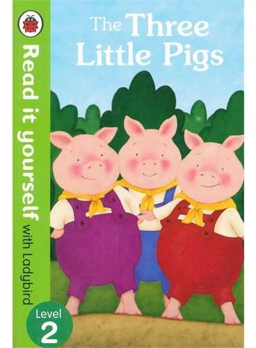 Read It Yourself: The Three Little Pigs(Level 2)三只小猪(大开本平装)ISBN9780723272946