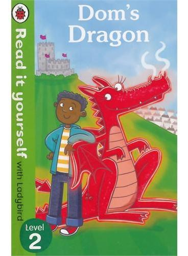 Read it Yourself: Dom's Dragon(Level 2)杜姆的龙(小开本精装)ISBN9780718194710