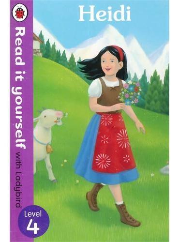 Read it Yourself: Heidi(Level 4)海蒂(小开本精装)ISBN9780723273264