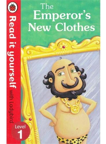 Read it Yourself: The Emperor's New Clothes(Level 1)皇帝的新衣(大开本平装)ISBN9780723272762