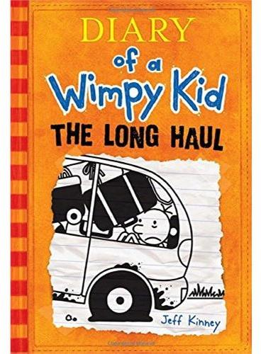 The Diary of Wimpy Kid #9 The Long Haul[Hardcover]小屁孩日记9(美国版,精装)ISBN9781419711893