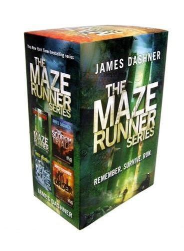 The Maze Runner Series移动迷宫(四本套装)ISBN9780385388894