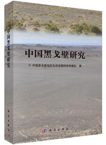 中国黑戈壁研究