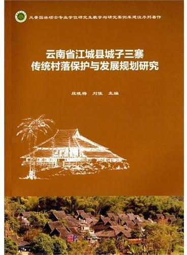 云南省江城县城子三寨传统村落保护与发展规划研究