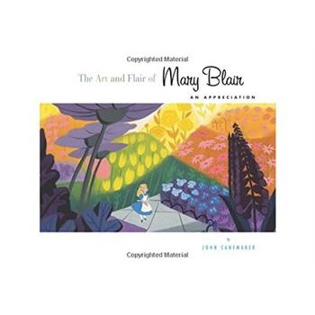 The Art and Flair of Mary Blair 玛丽布莱尔艺术画册 美国艺术类市场大受欢迎产品