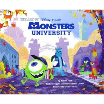 The Art of Monsters University 《怪物大学》电影版画册