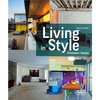 Living in Style: Architecture (ISBN=9783037681770) 居家设计 建筑设计 西方顶尖设计师构图