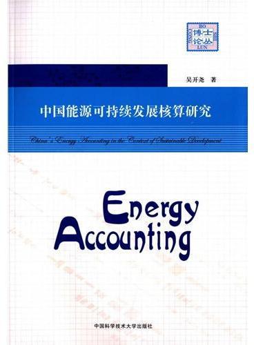 中国能源可持续发展核算研究