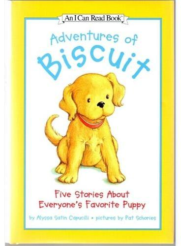 Adventures of Biscuit (I Can Read,My First Level, 5 Books)小饼干5个故事合集ISBN 9780062394330