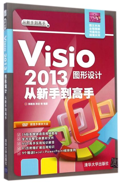 Visio 2013图形设计从新手到高手(配光盘)(从新手到高手)