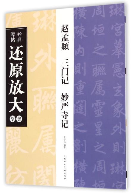 赵孟頫 三门记 妙严寺记---经典碑帖还原放大集萃