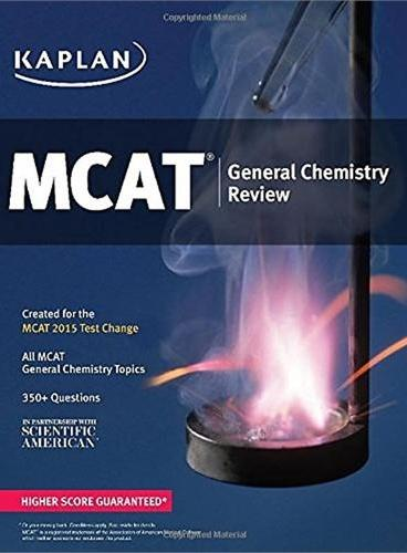 KAPLAN MCAT GENERAL CHEMISTRY REVIEW 开普兰MCAT化学总论分析